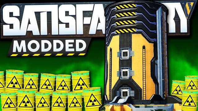 We have a Nuclear Waste Problem ALREADY?!! - Satisfactory Modded Let's Play Ep 2