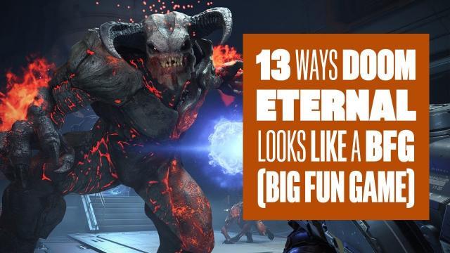 13 ways DOOM Eternal looks like a BFG (Big Fun Game)