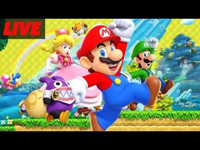 45 Minutes of New Super Mario Bros U Deluxe