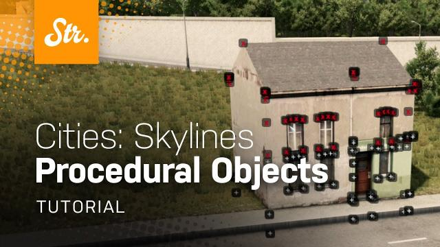 "Learning ""Procedural Objects"" from Scratch w/Maddie — Cities Skylines / Edited"