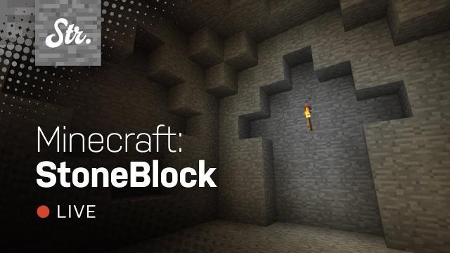 Minecraft: StoneBlock — The Beginning (w/ Jack Pattillo)