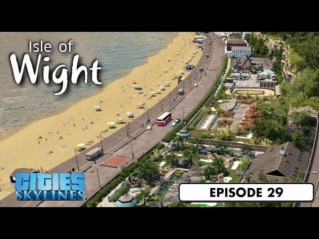 Beach Esplanade  - Cities: Skylines: Isle of Wight - 29