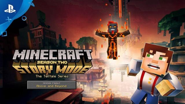 Minecraft: Story Mode – Season Two – Season Finale Trailer | PS4