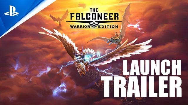 The Falconeer - Launch Trailer | PS5, PS4