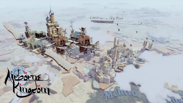 The City in the Sky - Airborne Kingdom 4K