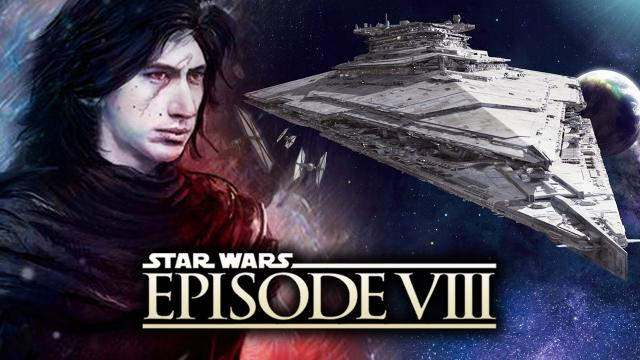 Star Wars Episode 8 - Kylo Ren's Star Destroyer THE FINALIZER!  Star Wars Revealed and Explained!