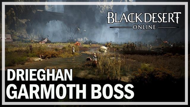 Black Desert Online Remastered - NA First Garmoth World Boss (Drieghan)