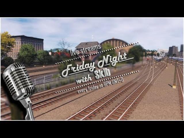 #53 Friday Night with Skib playing Cities Skylines | Chilling, relaxing and some Jazz