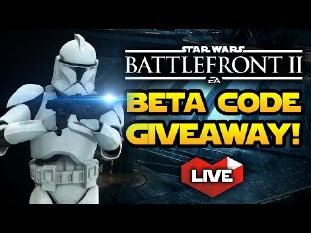 Star Wars Battlefront 2 - LIVE Gameplay With BIG GIVEAWAY!