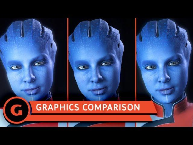 Mass Effect: Andromeda Graphics Comparison