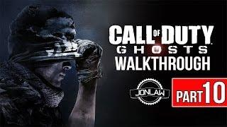 Call of Duty Ghosts Walkthrough - Part 10 BURNING BUILDING - Let's Play Gameplay&Commentary