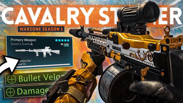 The UPDATED STONER w/ Cavalry Barrel is an ABSOLUTE BEAMER in  Warzone!