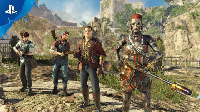 Strange Brigade – Co-op Gameplay Trailer | PS4