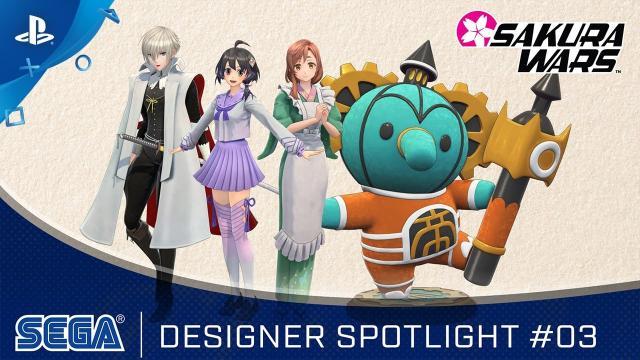 Sakura Wars - Designer Spotlight #03   PS4