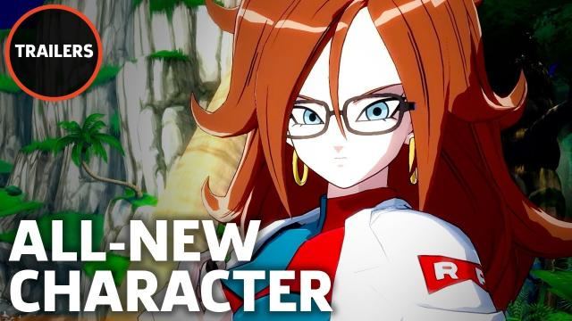 Dragon Ball FighterZ - Android 21 In-Game Reveal Trailer