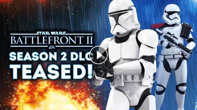 Star Wars Battlefront 2 - SEASON 2 DLC TEASED! New Faction ...