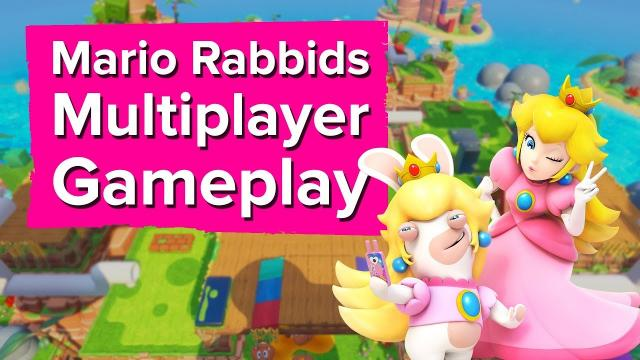 Mario + Rabbids Kingdom Battle MULTIPLAYER Gameplay - Chris plays with the dev!