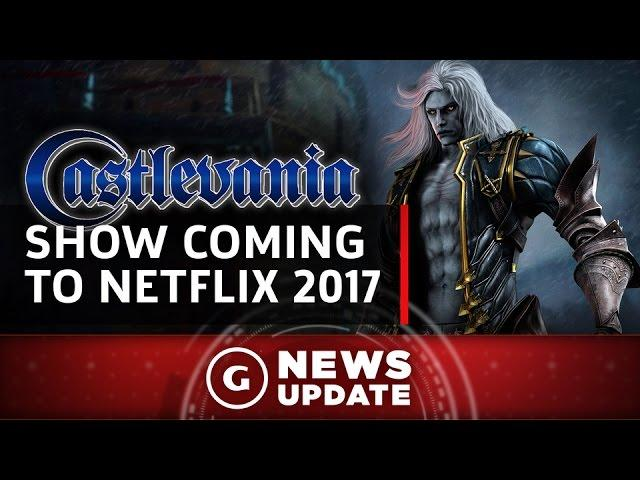 Castlevania Show Coming to Netflix in 2017 - GS News Update