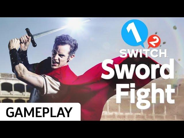 Swinging Imaginary Blades in Sword Fight on 1-2 Switch