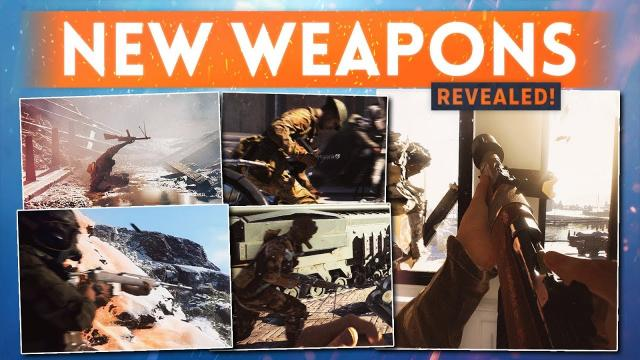 NEW WEAPONS REVEALED! – M1A1 Carbine, SIG KE7, M30 Drilling & MORE! (Battlefield 5 Gamescom Trailer)