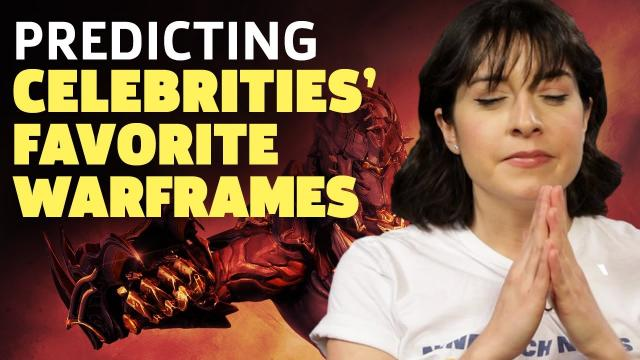 Warframe's Rebb Ford Predicts 23 Celebrities' Favorite Frames