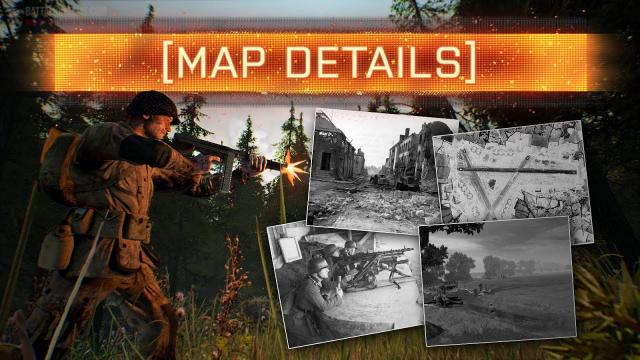 ► MAP DETAILS REVEALED! - Battalion 1944 (Winter Update)