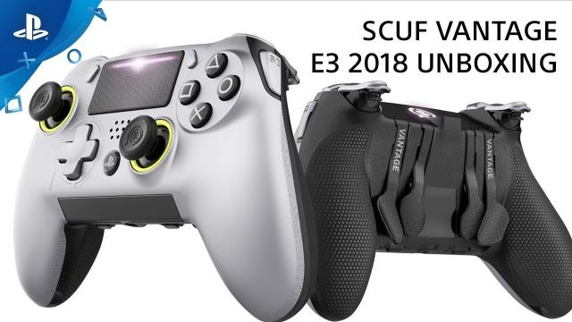 SCUF Vantage PS4 Controller Unboxing | PlayStation Live From E3 2018