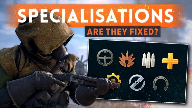 ► GARBAGE SPECIALISATIONS ARE BACK: Are They Fixed? - Battlefield 1 Turning Tides DLC