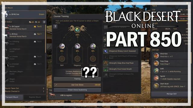 Black Desert Online - Let's Play Part 850 - Fiery Nouver & T9 Attempt