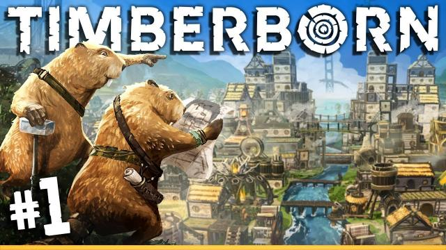This is basically BANISHED with BEAVERS! | Timberborn (#1)