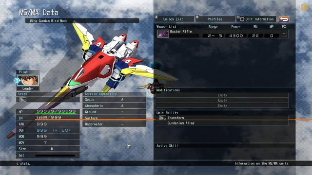SD Gundam G Generation Cross Rays Trainer +24