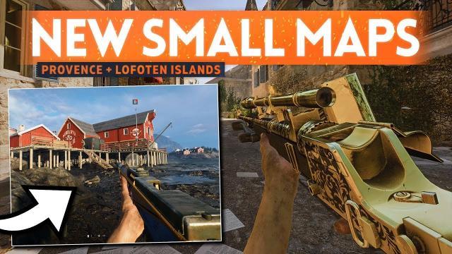 NEW MAPS ???? Battlefield 5 (Provence & Lofoten Islands Gameplay)
