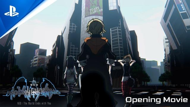 NEO: The World Ends with You - Opening Movie | PS4