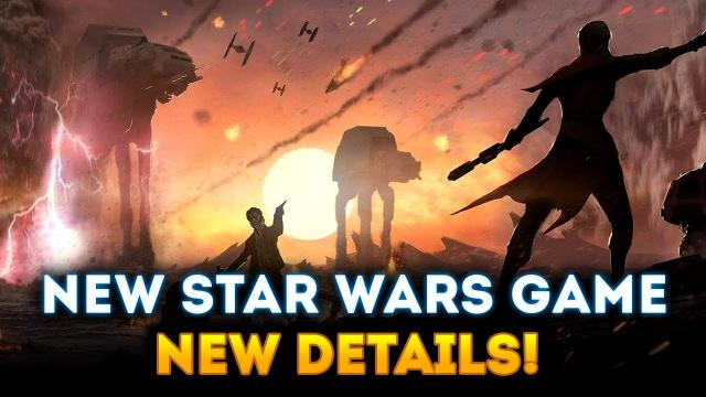 Respawn's NEW Star Wars Game - EXCITING NEW DETAILS! Focus on Story & Interactive Narrative!