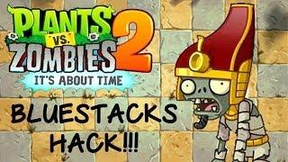 Plant Vs Zombie 2 Bluestacks Hack!!!