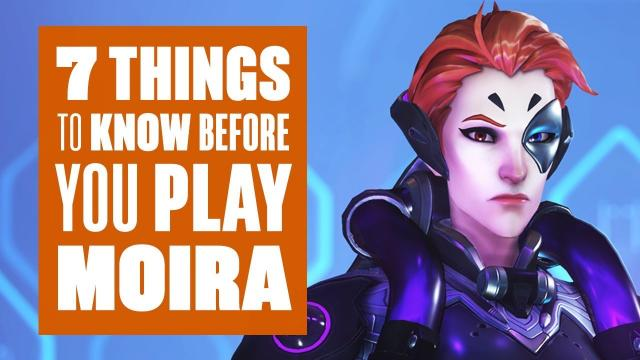 7 things to know before you play Moira (Overwatch's newest hero)