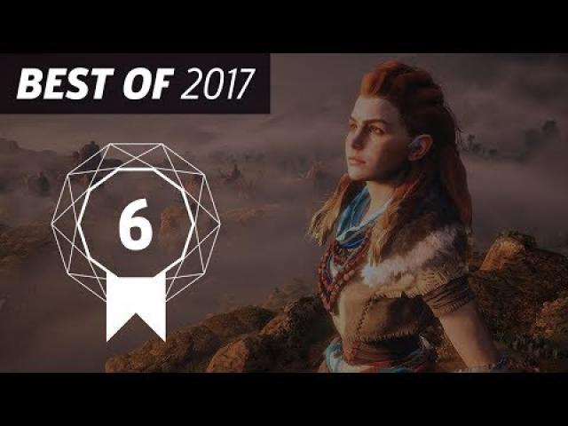 GameSpot's Best of 2017 #7 - Horizon Zero Dawn