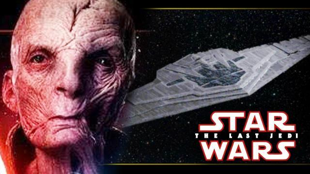 Snoke's Mega Star Destroyer OFFICIALLY REVEALED!  Star Wars Episode 8: The Last Jedi Explained