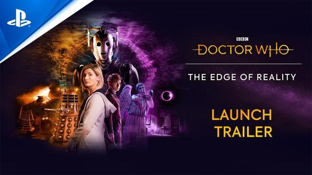 Doctor Who: The Edge of Reality - Launch Trailer   PS5, PS4