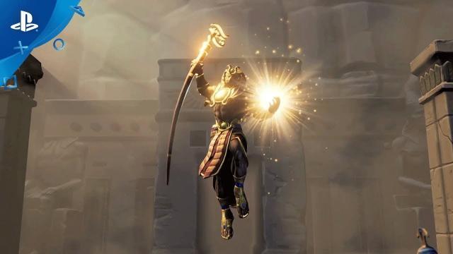 Hand of the Gods: SMITE Tactics - Closed Beta Trailer   PS4