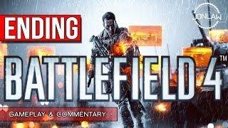 Battlefield 4 Walkthrough - Part 13 ENDING - Let's Play Gameplay&Commentary BF4