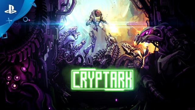 Cryptark - Launch Trailer | PS4
