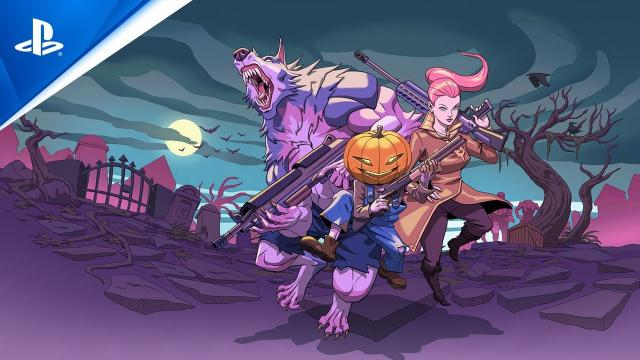 Savage Halloween - Release Date Announcement Trailer   PS4