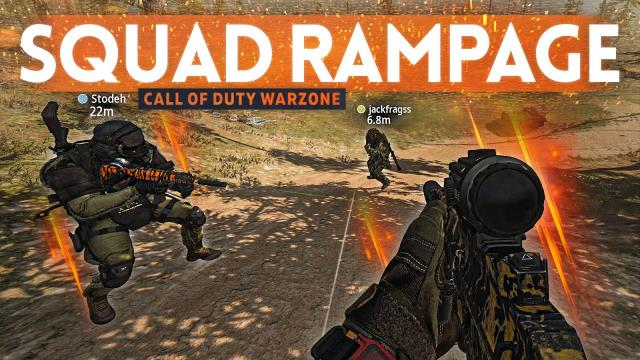 Battlefield Squad RAMPAGES to a Win in WARZONE!
