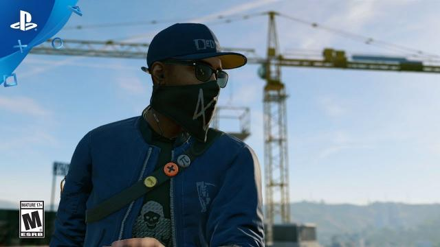 Watch Dogs 2 - Play For Free Demo Trailer | PS4