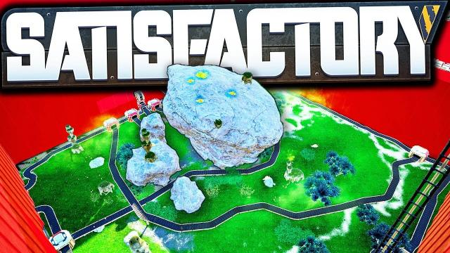 SLUG RANCH THEME PARK + Megabase Design Work! - Satisfactory Early Access Gameplay Ep 56