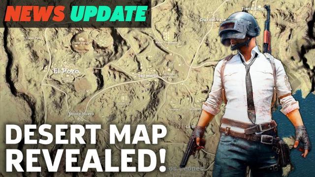 PUBG Desert Map Finally Revealed - GS News Update