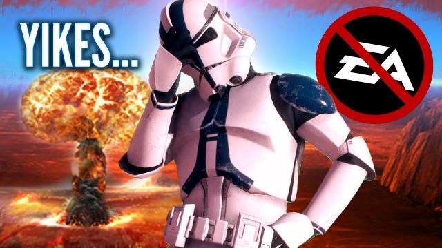 Why EA REALLY Lost Their Exclusive Star Wars License with Lucasfilm Games and Disney...