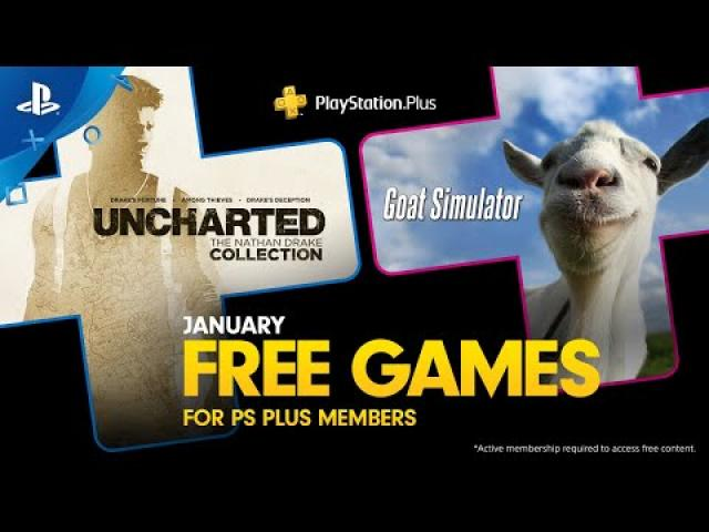 PlayStation Plus - Free Games Lineup January 2020 | PS4