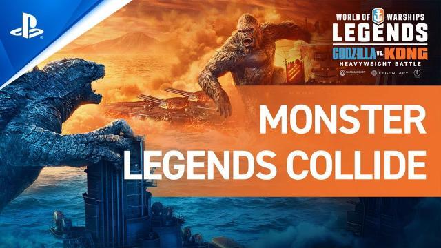 World of Warships: Legends – Monster Legends Collide   PS4
